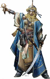 D&D Pathfinder Mini_Icone_PF4_Kyra