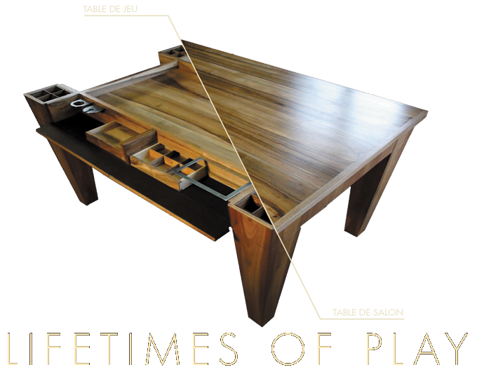 Furniture Can Level Up With Our Legacy Game Custom Made Gaming Tables