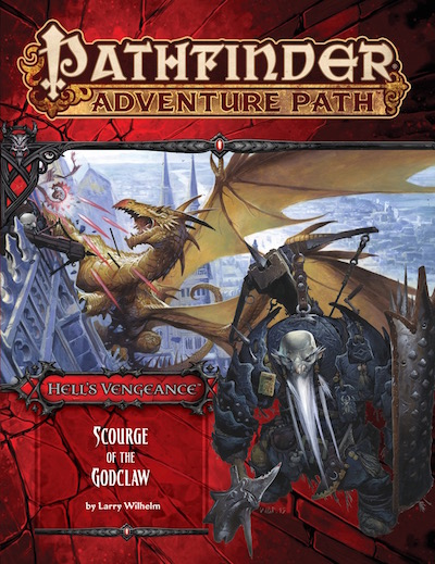 pathfinder adventure path 107 scourge of the godclaw hell 39 s vengeance 5 of 6 pfrpg vo. Black Bedroom Furniture Sets. Home Design Ideas