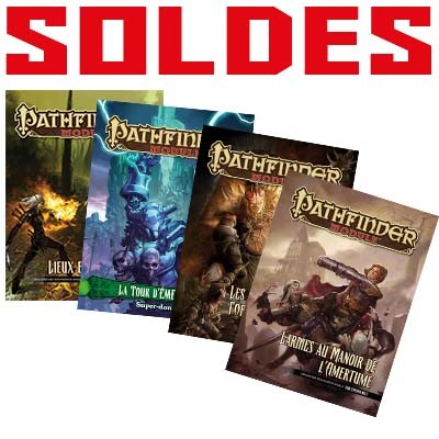 Lot Pathfinder Modules - SOLDES • Black Book Editions